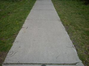 Dobro urađen trotoar